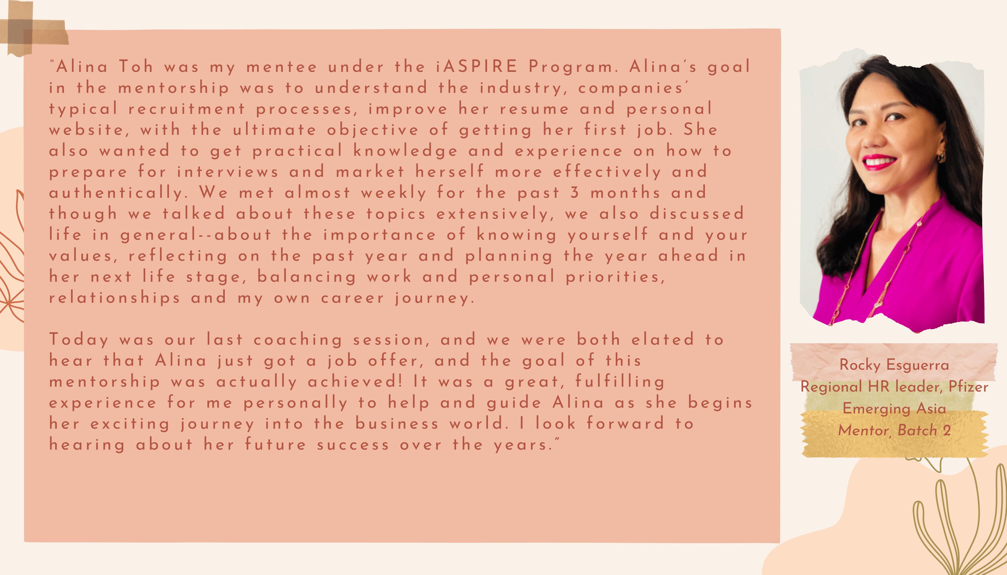 iASPIRE Program Stories